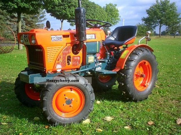 2008 Kubota  B 6001 Agricultural vehicle Tractor photo
