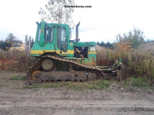 1993 CAT  D 4 H Construction machine Dozer photo