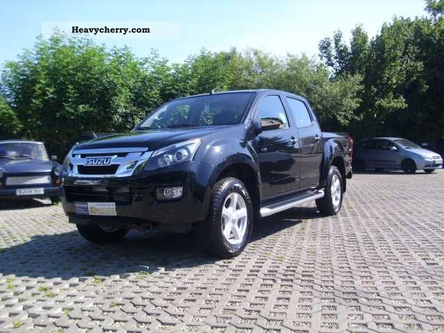 2012 Isuzu  D-Max 4x4 Double Cab AUTM. Premium (air-AT, LM Van or truck up to 7.5t Stake body photo