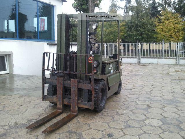1990 Still  EFG Forklift truck Front-mounted forklift truck photo