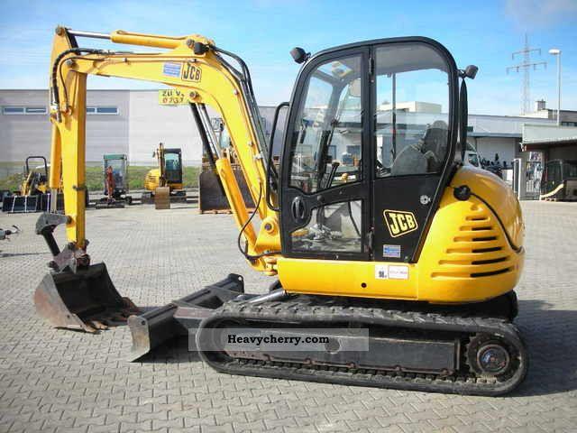 Jcb 8060 2007 Mini Kompact Digger Construction Equipment