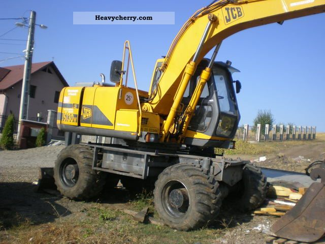 2012 JCB  130 W Construction machine Mobile digger photo