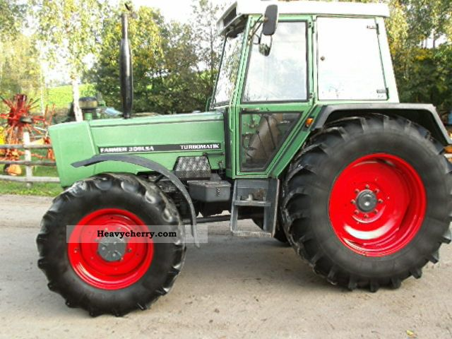 1986 Fendt  309LSA DL with 40km / h Agricultural vehicle Tractor photo