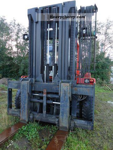 Kalmar Lmv 25 1200 Load 25tons 1987 Container Forklift