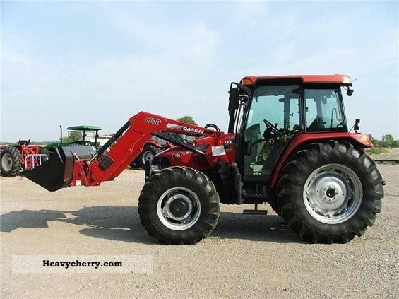 Case IH FARMALL 105U 2009 Agricultural Tractor Photo and Specs