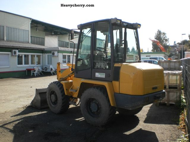 1997 Ahlmann  AF 60 Construction machine Wheeled loader photo
