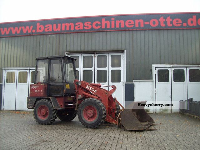 1991 Ahlmann  Jogger GT 700 Construction machine Wheeled loader photo