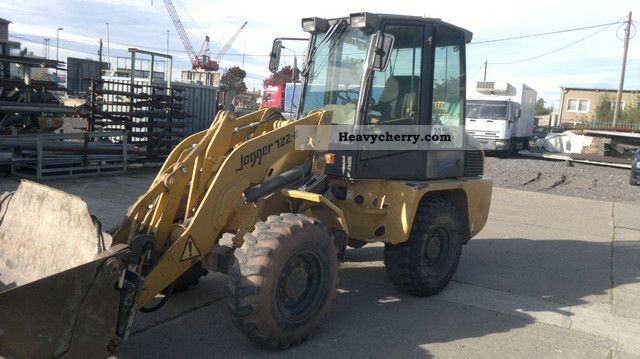 2001 Ahlmann  Jogger 722 K (AL 70) Construction machine Wheeled loader photo