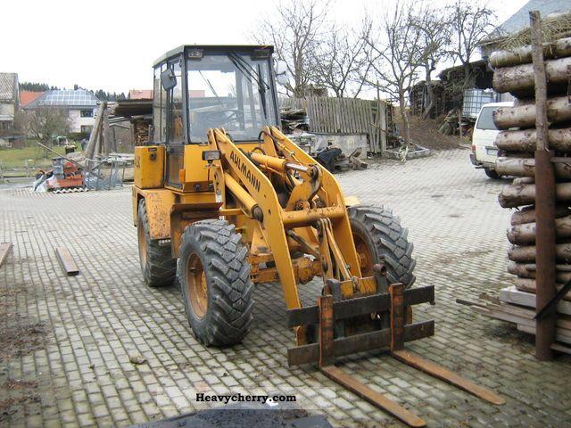 1992 Ahlmann  AL8C Construction machine Combined Dredger Loader photo