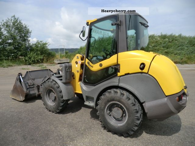 2007 Ahlmann  AX85 clamshell bucket + forks, 2270 Bh Construction machine Wheeled loader photo
