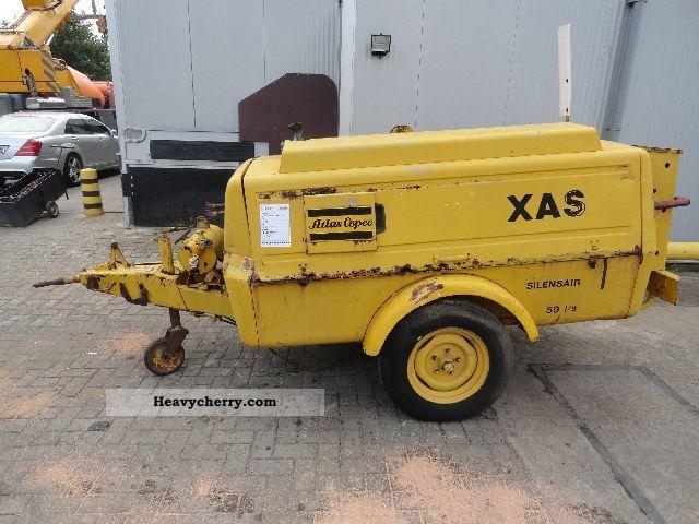 Atlas Copco Xas 60 Compressor 1978 Other Construction