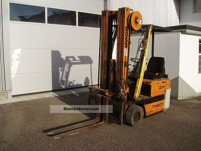 1992 Steinbock  LE 16 Forklift truck Front-mounted forklift truck photo