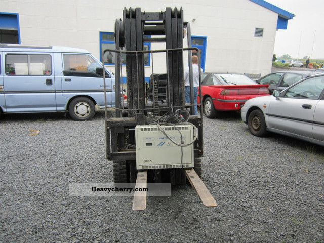 1992 Steinbock  LE 13-50 Forklift truck Front-mounted forklift truck photo