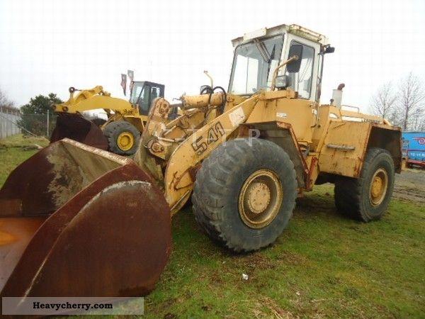 2012 Liebherr  541 Construction machine Wheeled loader photo