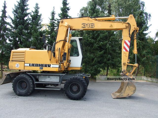 2001 Liebherr  316 Construction machine Mobile digger photo