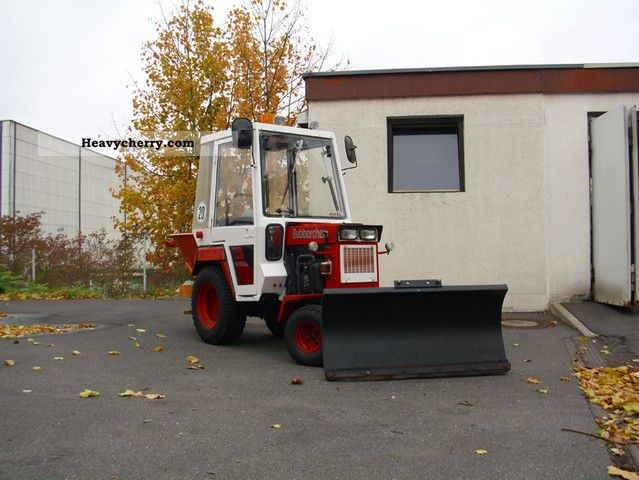 1980 Hako  Hakotrac 2000V * WINTERDIENST * Agricultural vehicle Other substructures photo