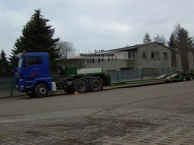 2007 Doll  T2H Semi-trailer Low loader photo