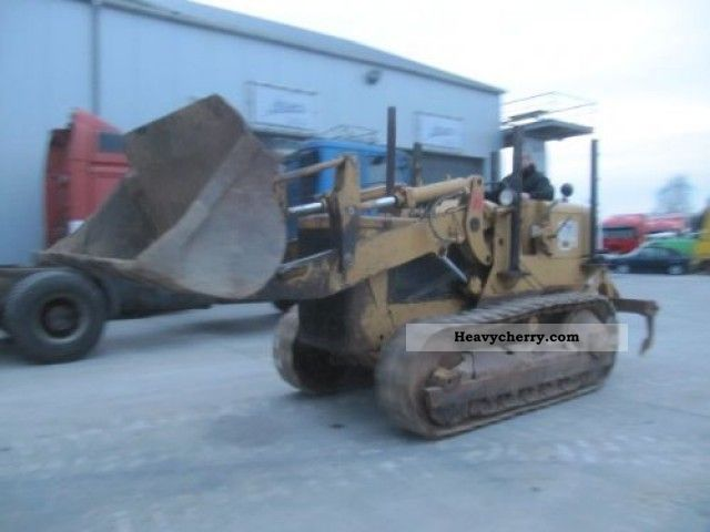 1980 CAT  941B (WITH RIPPER) Construction machine Other construction vehicles photo