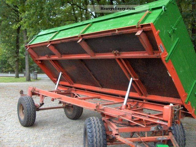 2012 Strautmann  Tipper 5,7 to Agricultural vehicle Loader wagon photo