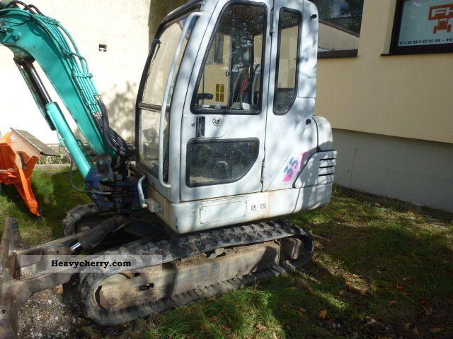 2000 IHI  35J, SW-MS03, new chains, 3.5 t Construction machine Mini/Kompact-digger photo