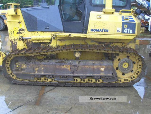 2007 Komatsu  D 41 E-6 in 2007 Construction machine Dozer photo
