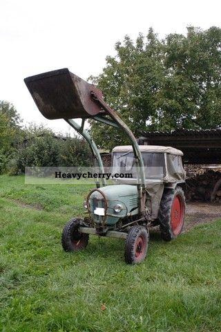 1966 Kramer  KL400 Agricultural vehicle Tractor photo