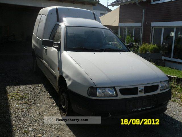 1999 Seat  Inca Van or truck up to 7.5t Box-type delivery van photo