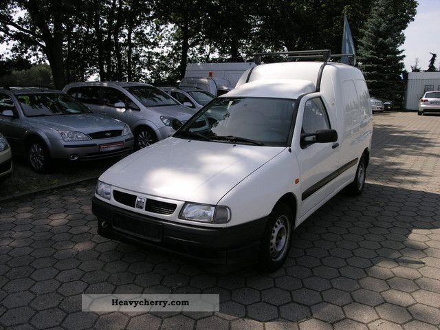 1998 Seat  Inca Van or truck up to 7.5t Box photo