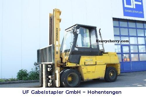 1984 Steinbock  DFG 7.5 F/340 Forklift truck Front-mounted forklift truck photo