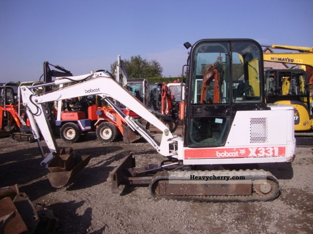 Bobcat 331 1997 Mini/Kompact-digger Construction Equipment Photo ...