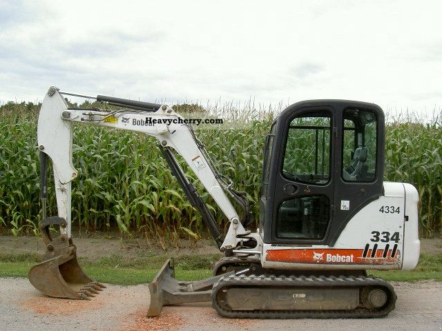 2006 Bobcat  334 G Construction machine Mini/Kompact-digger photo