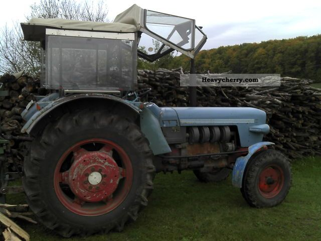 1973 Eicher  King Tiger 2 3351 Agricultural vehicle Tractor photo