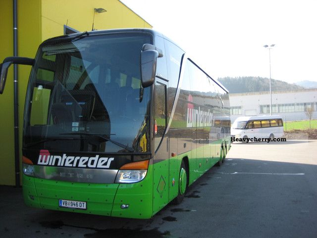 2004 EVO  Evobus Setra S 417 HDH ​​(Euro 3, Air) Coach Coaches photo