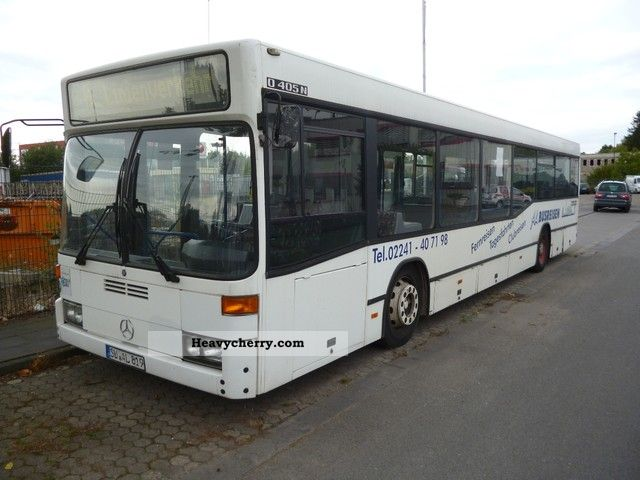 1998 EVO  Evobus 405 N Coach Public service vehicle photo