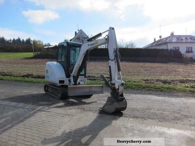 2001 Bobcat  334 D Construction machine Mini/Kompact-digger photo