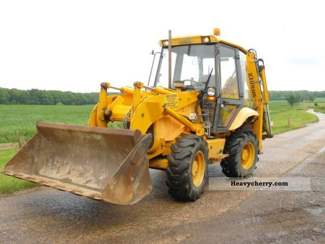 1997 JCB  2CX STREET MASTER Construction machine Combined Dredger Loader photo