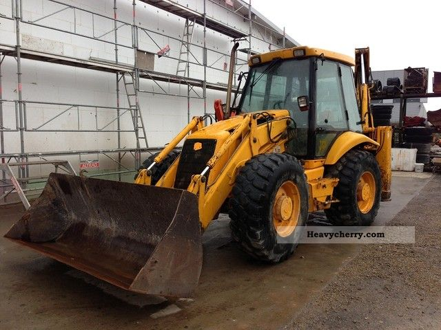 1999 JCB  3CX SUPPER Construction machine Combined Dredger Loader photo