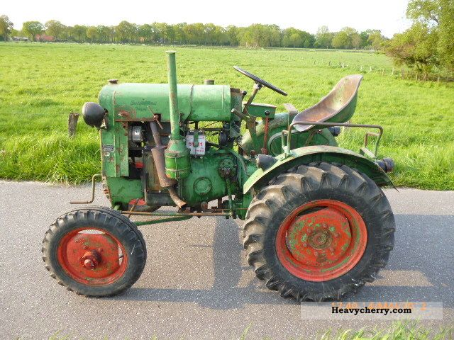 1949 Deutz-Fahr  FM 414/46 Agricultural vehicle Tractor photo