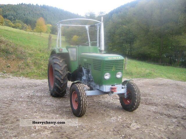 1974 Deutz-Fahr  6006 Agricultural vehicle Tractor photo