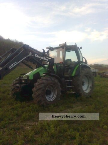 2000 Deutz-Fahr  Agroton 106 Agricultural vehicle Tractor photo