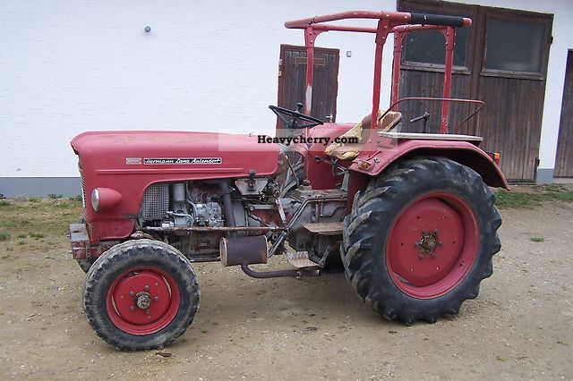 1976 Lanz  D 634 Agricultural vehicle Tractor photo