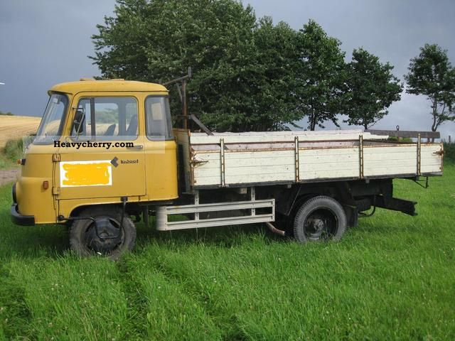 robur ld 3002 1986 stake body truck photo and specs