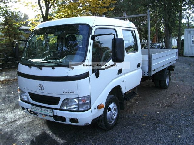 2006 Toyota  Dyna Euro 4 green umweltplakette Van or truck up to 7.5t Stake body photo