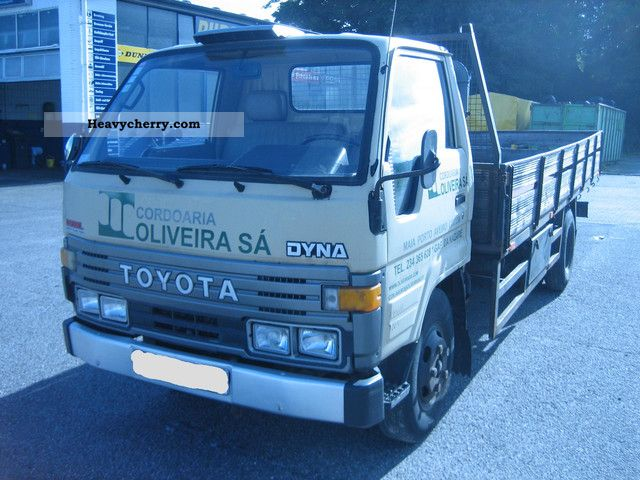 1989 Toyota  Dyna 250 BU84L with Flatbed / Shipping Possible Van or truck up to 7.5t Stake body photo