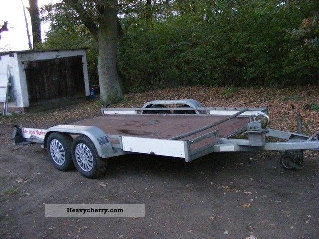 2003 Kroeger  Felix Trailer Car carrier photo