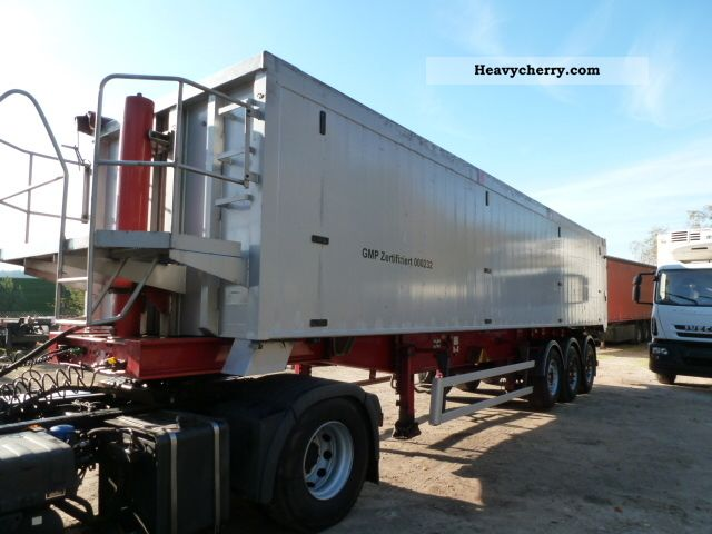 2005 Kroeger  Full ALLU IZOLIERTE DOUBLE WALLS 47.50 m3 Semi-trailer Tipper photo