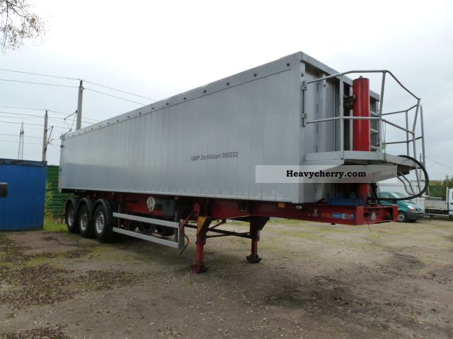 2005 Kroeger  Full Allu Izolirte double walls 54 m3 Semi-trailer Tipper photo