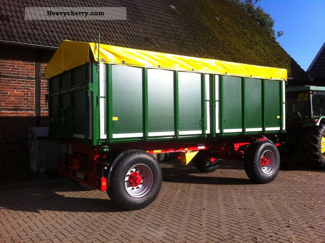 2012 Kroeger  Three-way dump 18 tonnes Internal No. 0000 Trailer Three-sided tipper photo