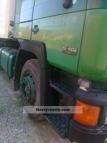 Man 19 402 Carrier Refrigerated Semi Trailer 1994 Standard Tractor Trailer Unit Photo And Specs