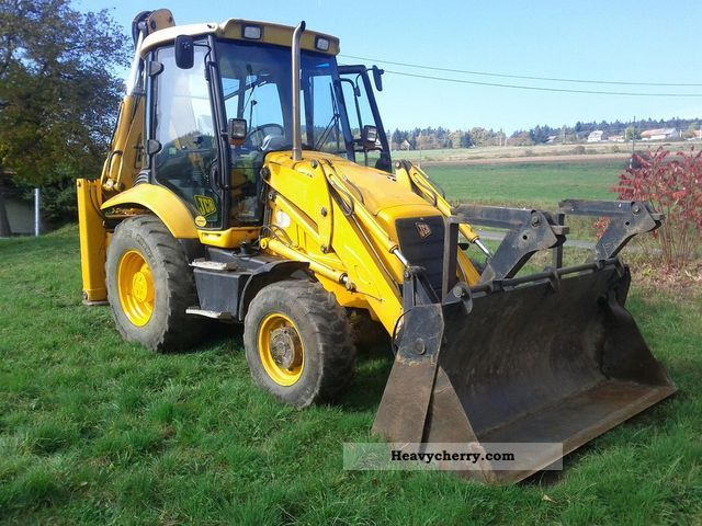 2003 JCB  3CX Construction machine Combined Dredger Loader photo